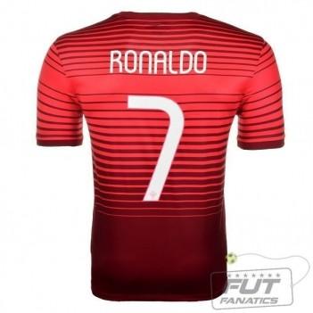Camisa Nike Portugal Home 2014 7 Ronaldo Matchday