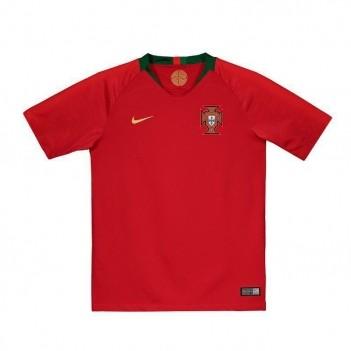 Camisa Nike Portugal Home 2018 Juvenil