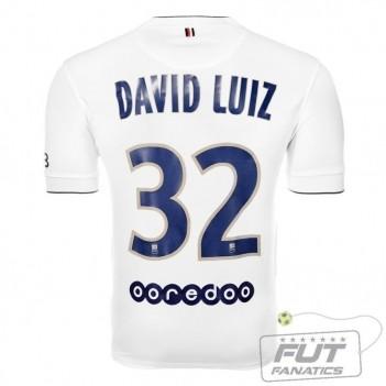 Camisa Nike PSG Away 2015 32 David Luiz