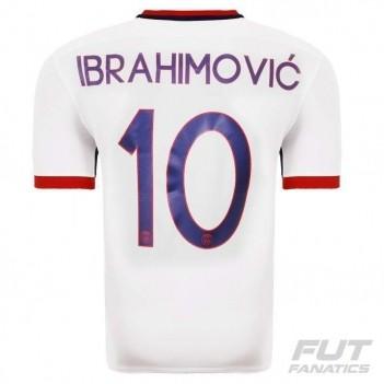 Camisa Nike PSG Away 2016 10 Ibrahimovic UCL