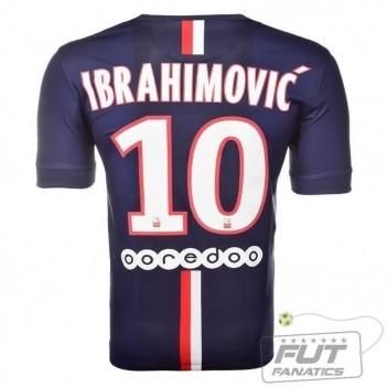 Camisa Nike PSG Home 2015 10 Ibrahimovic