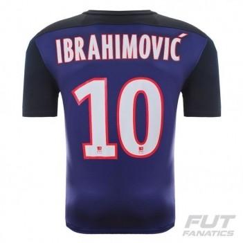 Camisa Nike PSG Home 2016 10 Ibrahimovic LFP