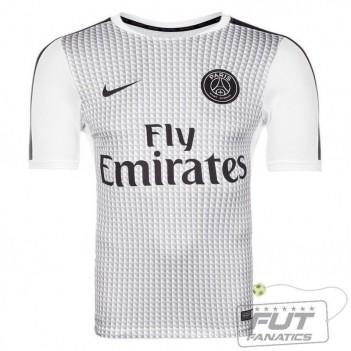 Camisa Nike PSG Squad Pre Match 2015