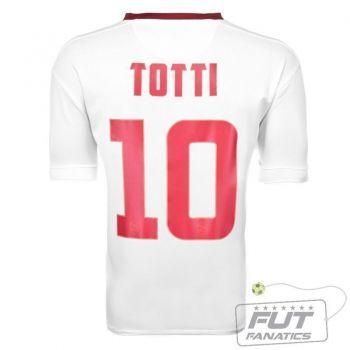 Camisa Nike Roma Away 2015 10 Totti