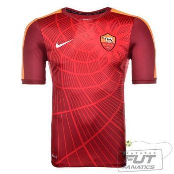 Camisa Nike Roma Squad Pre Match 2015
