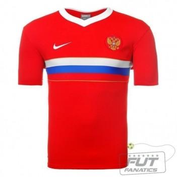 Camisa Nike Rússia Home 2008