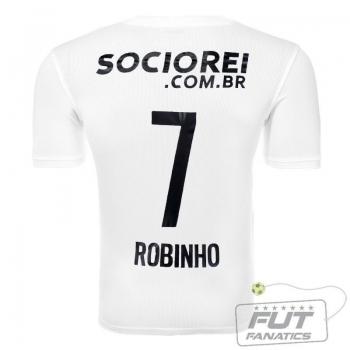 Camisa Nike Santos I 2014 7 Robinho