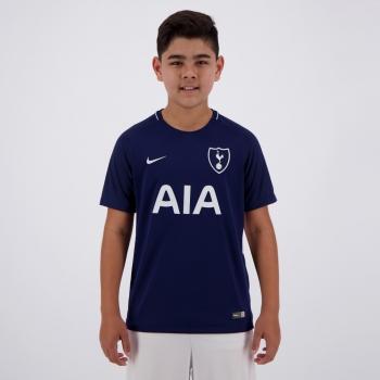 Camisa Nike Tottenham Away 2018 Juvenil