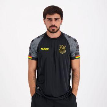 Camisa Numer Sampaio Corrêa Concentração 2020 Preta