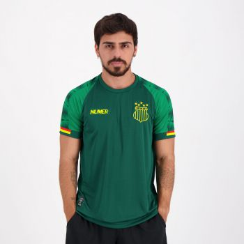 Camisa Numer Sampaio Corrêa Concentração 2020 Verde
