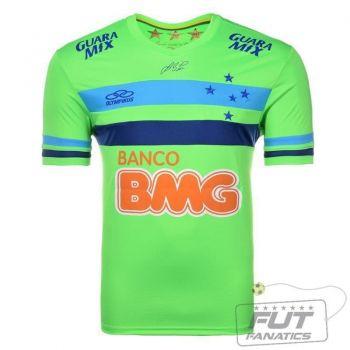 Camisa Olympikus Cruzeiro Goleiro I 2014 Verde