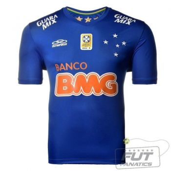 Camisa Olympikus Cruzeiro I 2014 No 10