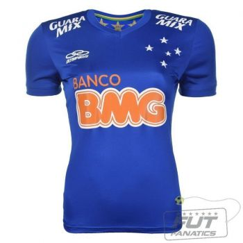 Camisa Olympikus Cruzeiro I 2014 Feminina