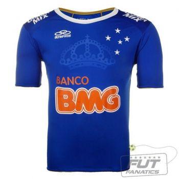 Camisa Olympikus Cruzeiro I 2014 Libertadores