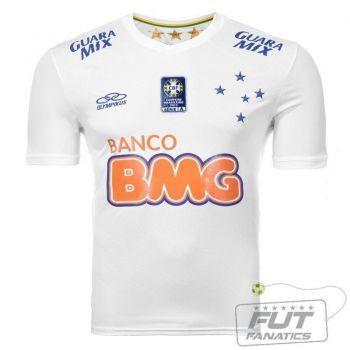 Camisa Olympikus Cruzeiro II 2014 C/ Patch