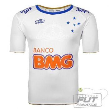 Camisa Olympikus Cruzeiro II 2014 Libertadores