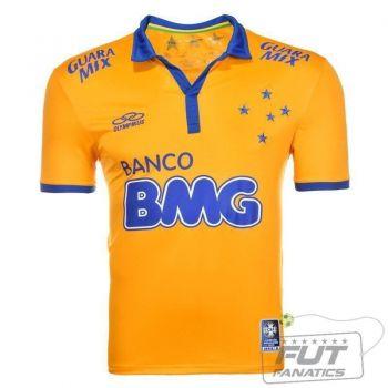 Camisa Olympikus Cruzeiro III 2014 C/ Patch