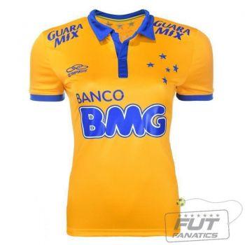 Camisa Olympikus Cruzeiro III 2014 Feminina