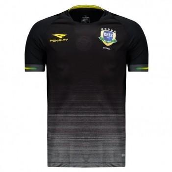 Camisa Penalty Brasil CBFS Futsal Goleiro I 2019
