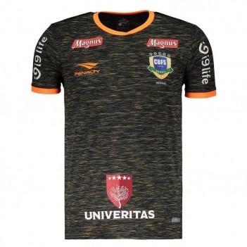 Camisa Penalty Brasil CBFS Futsal Goleiro III 2018