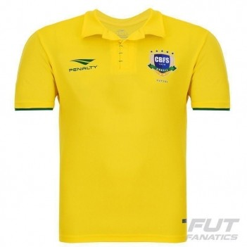 Camisa Penalty Brasil Futsal CBFS I 2016