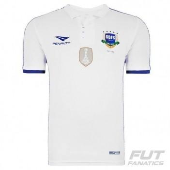 Camisa Penalty Brasil Futsal CBFS III 2016