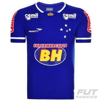 Camisa Penalty Cruzeiro I 2015 com Patrocínio