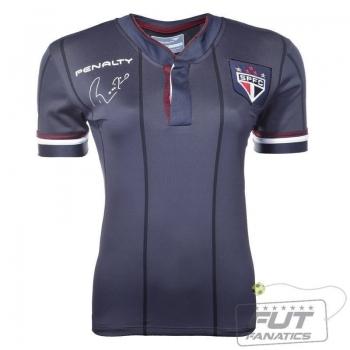 Camisa Penalty São Paulo Comemorativa Rogério Ceni Feminina