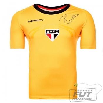 Camisa Penalty São Paulo Goleiro RC IV 2014 S/ Patrocínio