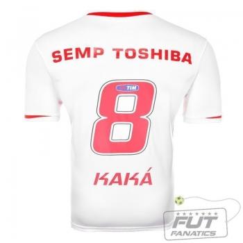 Camisa Penalty São Paulo I 2014 SEMP 8 Kaká