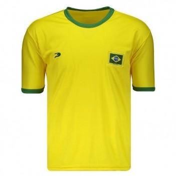 Camisa Placar Brasil Amarela
