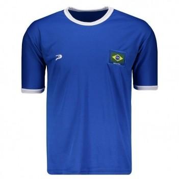 Camisa Placar Brasil Azul