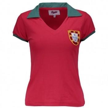 Camisa Portugal 1972 Feminina