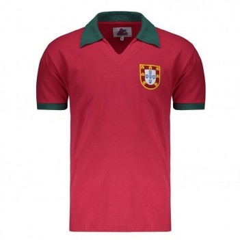 Camisa Portugal 1972 Retrô