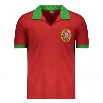 Camisa Portugal Retrô Vermelha