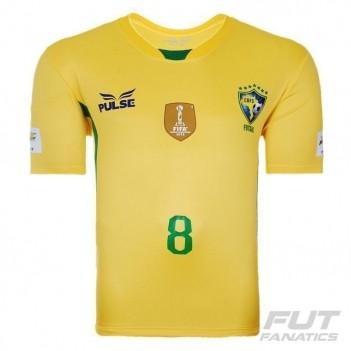 Camisa Pulse Brasil Futsal CBFS I 2014