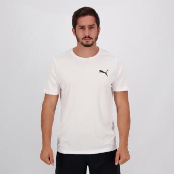 Camisa Puma Active Small Logo Branca