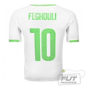 Camisa Puma Argélia Home 2014 10 Feghouli