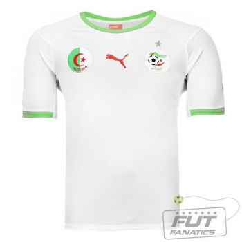 Camisa Puma Argélia Home 2014