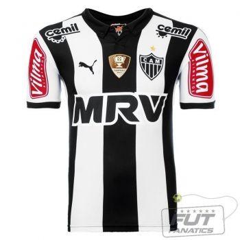 Camisa Puma Atlético Mineiro I 2015 com Patch
