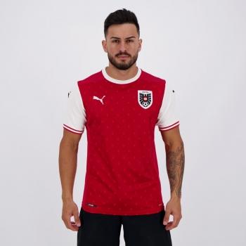Camisa Puma Áustria Home 2020