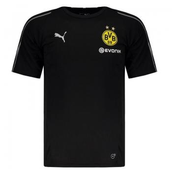 Camisa Puma Borussia Dortmund Treino 2019 Preta