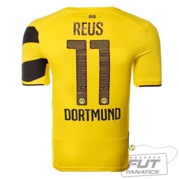 Camisa Puma Borussia Dortmund Home 2015 11 Reus