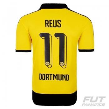 Camisa Puma Borussia Dortmund Home 2016 Juvenil