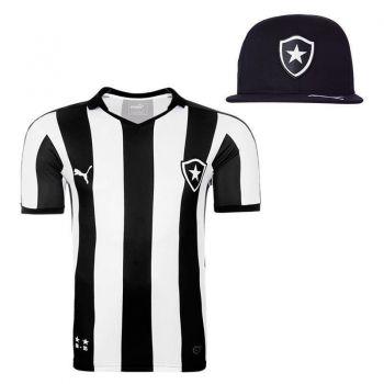Camisa Puma Botafogo I 2015 + Boné Preto