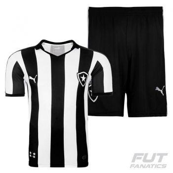 Camisa Puma Botafogo I 2015 + Calção Botafogo I 2015