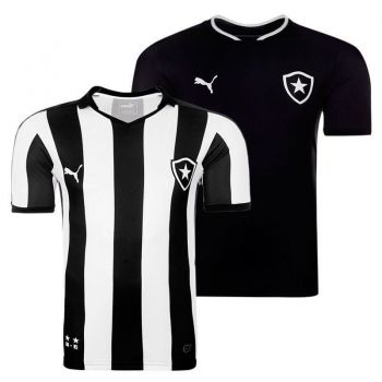 Camisa Puma Botafogo I 2015 + Camisa Botafogo II 2015