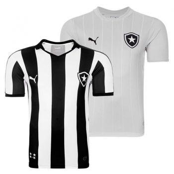 Camisa Puma Botafogo I 2015 + Camisa Botafogo III 2015