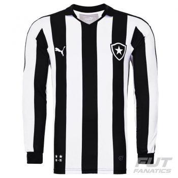 Camisa Puma Botafogo I 2015 Manga Longa Jogador