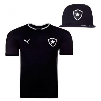 Camisa Puma Botafogo II 2015 + Boné Preto